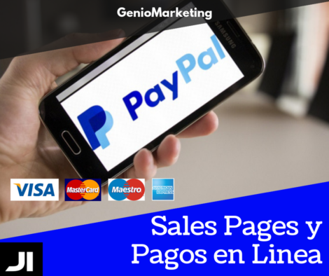 Sales Pages y Pagos en Linea